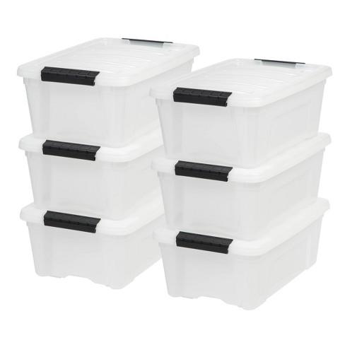 IRIS Stack & Pull Storage Box - image 1 of 4