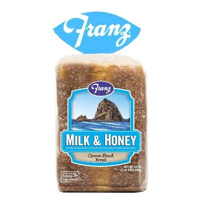 Franz Milk & Honey Cannon Beach Sandwich Bread - 24oz