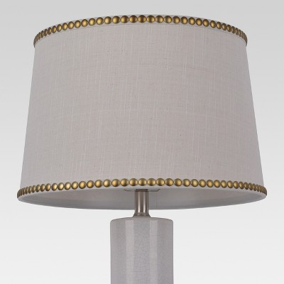 Nailhead Trim Large Lamp Shade Cream - Threshold™