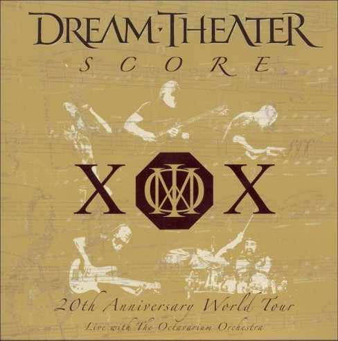 Dream theater - Score:20th anniversary world tour liv (CD) - image 1 of 2