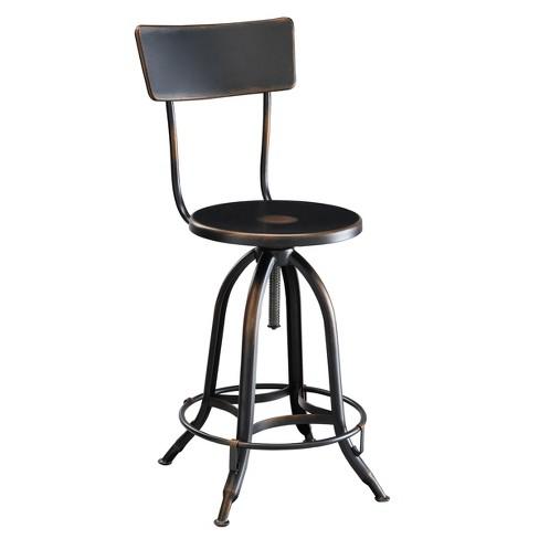 Webster Adjustable Metal Stool - Carolina Chair & Table - image 1 of 1