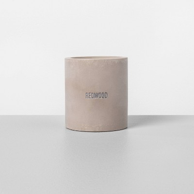 9.3oz Cement Candle Redwood - Hearth & Hand™ with Magnolia