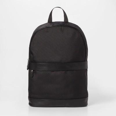 Men's Nylon Dome Backpack - Goodfellow & Co™ Black