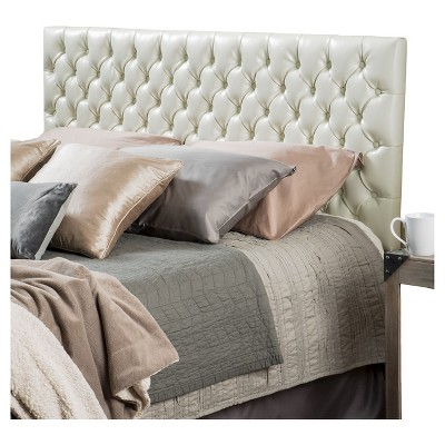 Queen/Full Jezebel Button Tufted Headboard - Christopher Knight Home