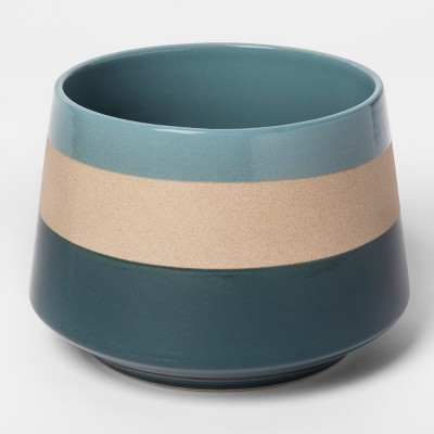 Clay Stripe Vase - Teal - Project 62™