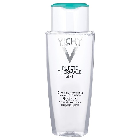 Vichy Purete Thermal Cleansing Micellar Water 3-in-1 One Step Face Cleanser and Makeup Remover - 6.7oz - image 1 of 4