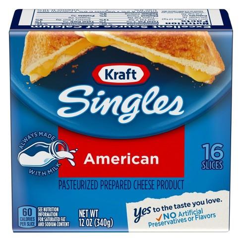 Kraft Singles American Cheese Slices - 16ct - image 1 of 4