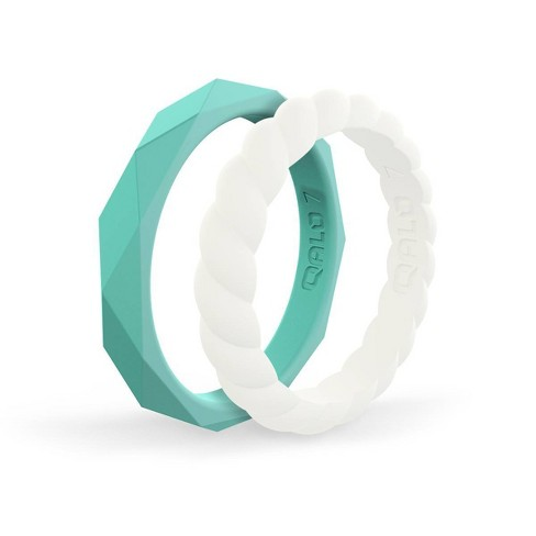 QALO Women's Stackable Silicone Ring G - image 1 of 4