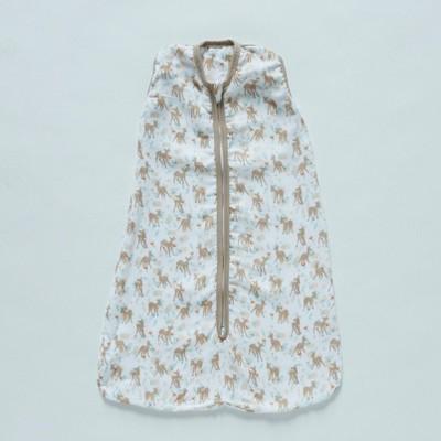 Patina Vie Sleepsack 100% Cotton Wearable Blanket - Fawn
