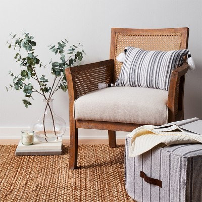 Laconia Caned Accent Chair Beige Threshold Target