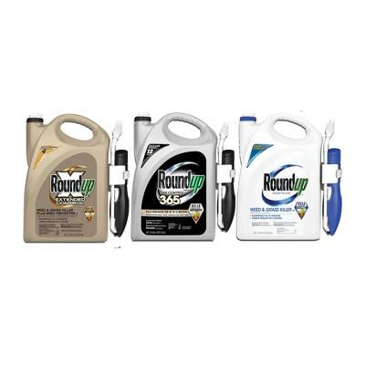 Roundup Herbicide Assortment Bundle - 3pk