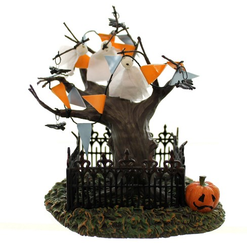 Dept 56 Accessories Halloween Town Tree Ghosts Snow Village  -  Decorative Figurines - image 1 of 3