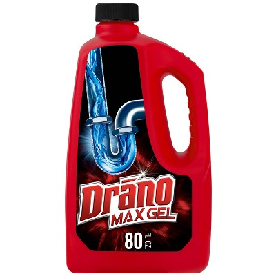 Drain Cleaners: Drano Max
