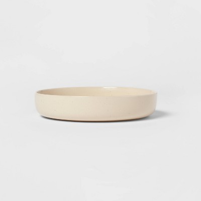 37.2oz Stoneware Tilley Dinner Bowl White - Project 62™