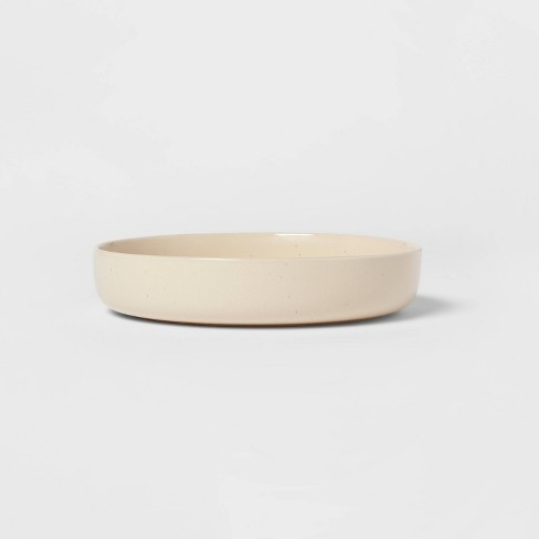 37.2oz Stoneware Tilley Dinner Bowl White - Project 62™ - image 1 of 3
