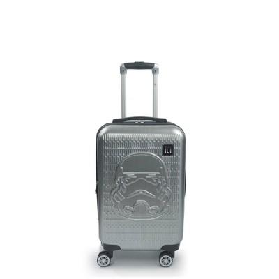 "FUL Star Wars Stormtrooper Embossed 21"" Spinner Suitcase - Silver"