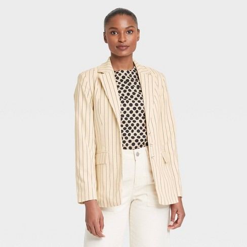 Women's Clinched Waist Blazer - Who What Wear™ - image 1 of 3