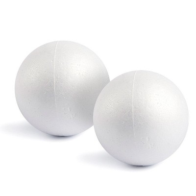 3 Inch Smooth Foam Balls Great for Arts and Craft /& DIY Christmas Decor 3 Inch - 6 Balls
