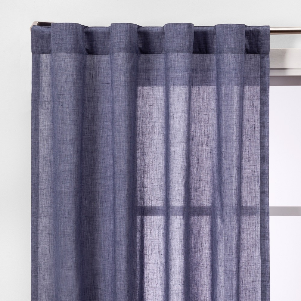 2pk 95 Curtain Panels Navy (Blue) - Made By Design
