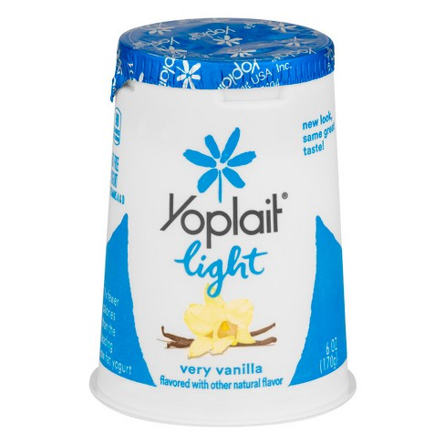 Yoplait Light Very Vanilla Yogurt - 6oz
