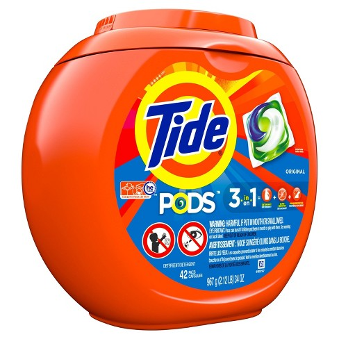 Tide PODS Laundry Detergent Pacs Original - 42ct - image 1 of 3