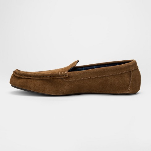 fad900b17c071 Men's Cow Suede Moc Loafers - Goodfellow & Co™ Brown