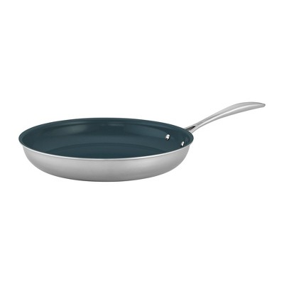 ZWILLING Clad CFX Stainless Steel Ceramic Nonstick Fry Pan