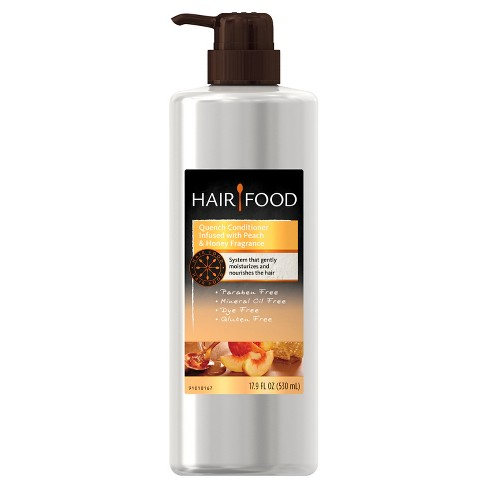 Hair Food Gluten Free Quench Peach and Honey Conditioner - 17.9oz - image 1 of 4