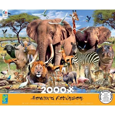 Ceaco African Plains Jigsaw Puzzle - 2000pc