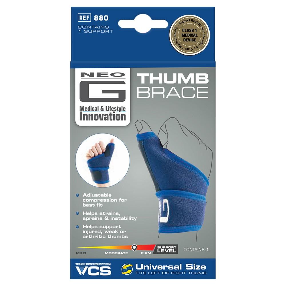 Neo G Thumb Brace - One Size, Blue