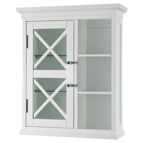 "Wall Cabinet 24"" White - Elegant Home Fashions - image 1 of 5"