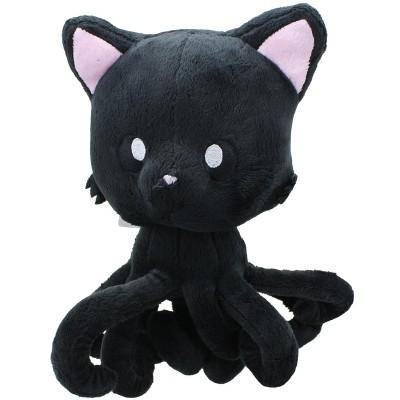 "Tentacle Kitty 8"" Plush Midnight Black"