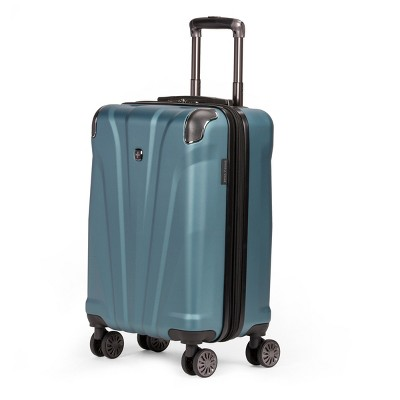"SWISSGEAR 20"" Hardside Carry On Suitcase - Teal"