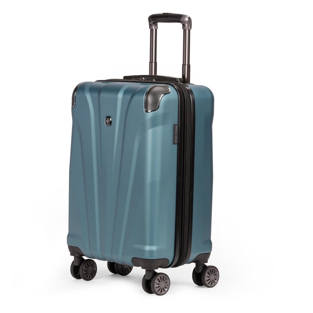 Swissgear 20 34 Hardside Carry On Suitcase Teal
