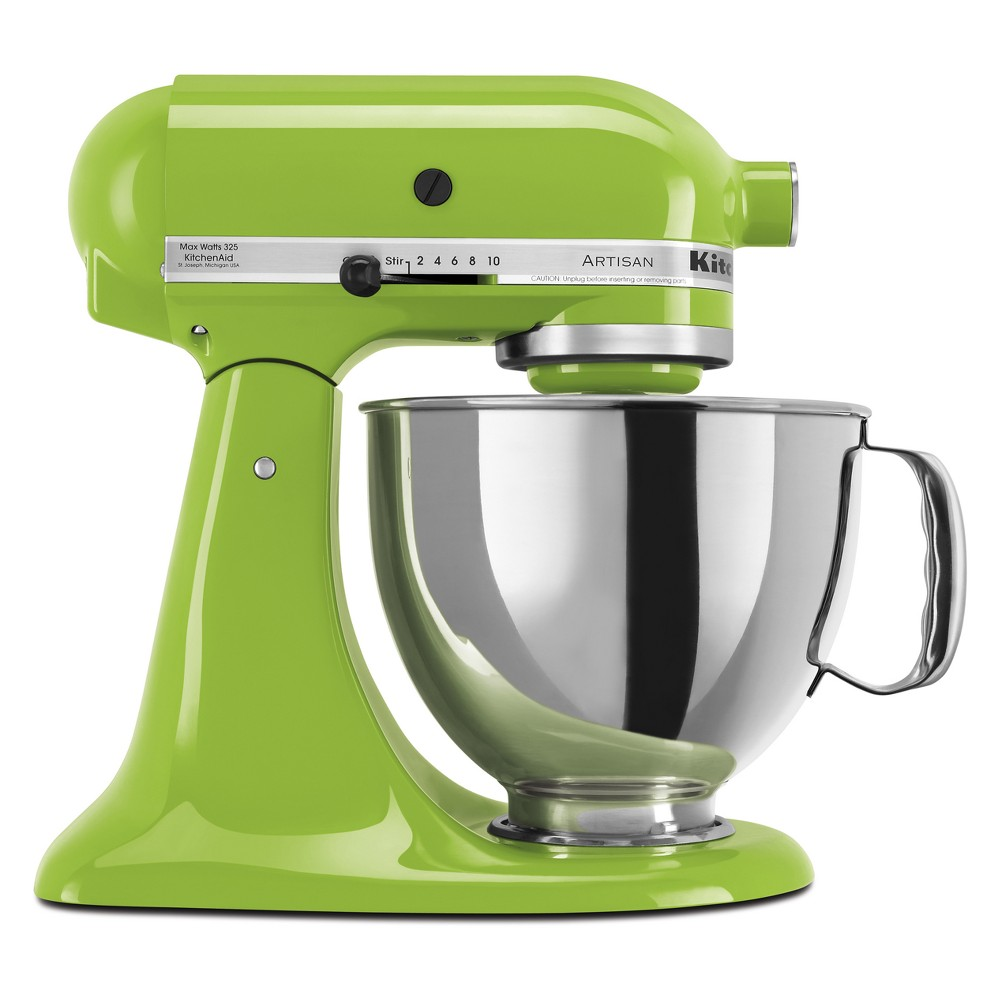KitchenAid Refurbished Artisan Series Stand Mixer – Green Apple RRK150GA 53570912