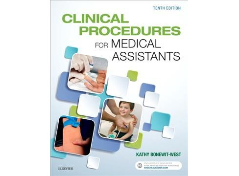 Clinical Procedures for Medical Assistants -  by Kathy Bonewit-West (Paperback) - image 1 of 1