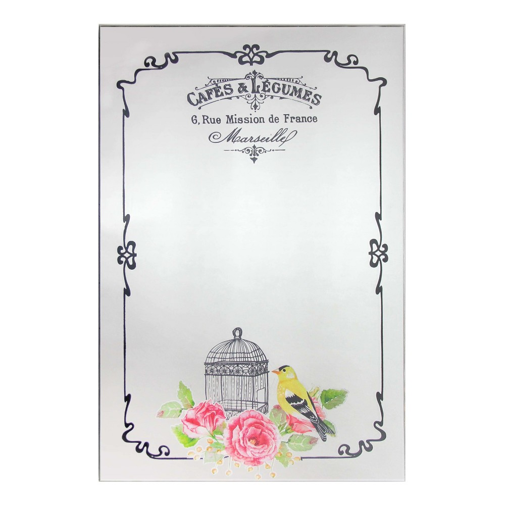 "Image of ""French Country Café 23.5"""" X 15.75"""" Wall Mirror - Infinity Instruments"""