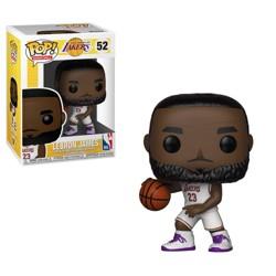 Funko POP! Basketball: NBA Los Angeles Lakers - Lebron James (White Uniform)
