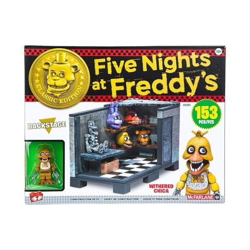 Five Nights At Freddy's Classic Backstage 153-Piece Medium Construction Set