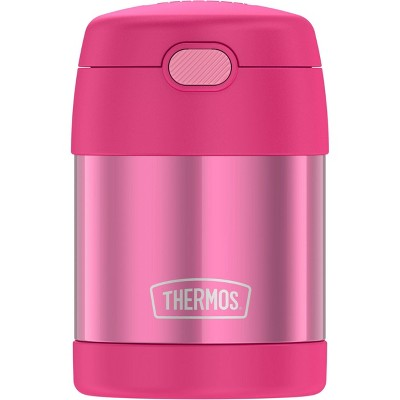 Thermos 10oz FUNtainer Food Jar with Spoon - Pink