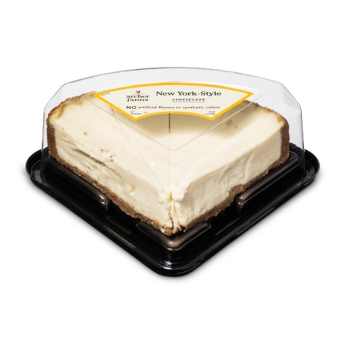 New York Style Cheesecake Slices - 4ct - Archer Farms™ - image 1 of 1