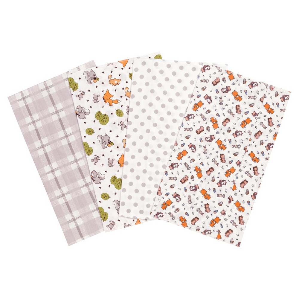 Trend Lab Burp Cloth Set Gray