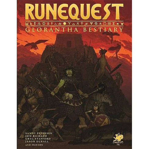 Runequest Bestiary - by  Stafford Greg (Hardcover) - image 1 of 1