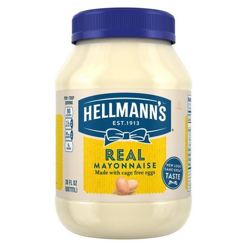 Hellmann's Mayonnaise Real - 30oz - image 1 of 4
