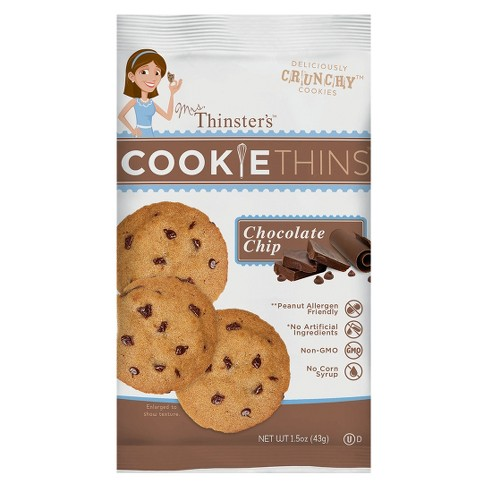 That's How We Roll Mrs. Thinsters™  Chocolate Chip - Cookie - Single Serve - image 1 of 1