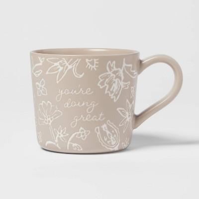 15oz Stoneware You're Doing Great Mug - Threshold™