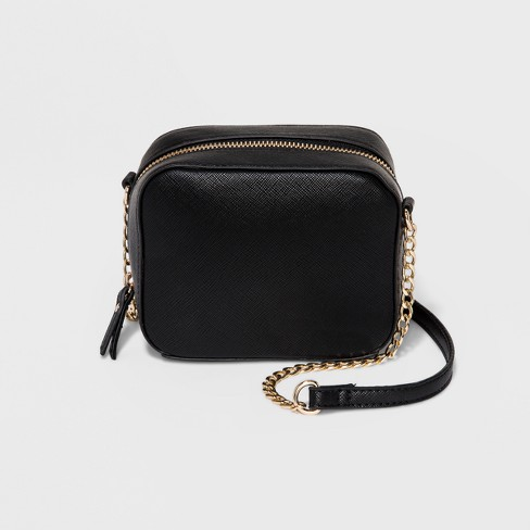 3bad2702cf Mini Camera Crossbody Bag - A New Day™ Black : Target