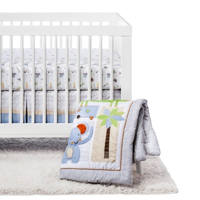 Trend Lab 6pc Crib Bedding Set - Jungle Fun