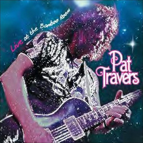 Pat Travers - Live At The Bamboo Room (CD) - image 1 of 1