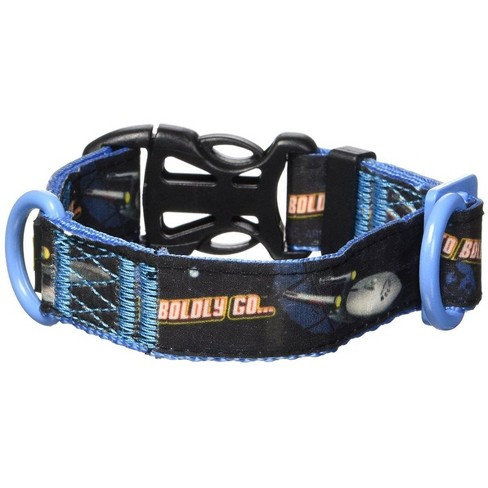 """Crowded Coop Star Trek """"To Boldly Go"""" Dog Collar - image 1 of 1"""